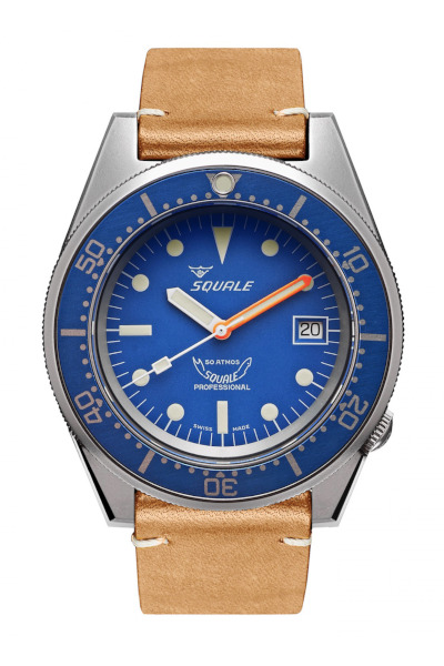 Squale 1521 Blue Blasted