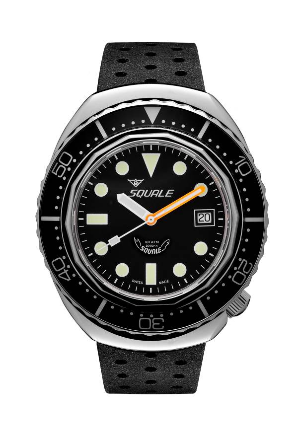 Squale 2002 Black Round Dots