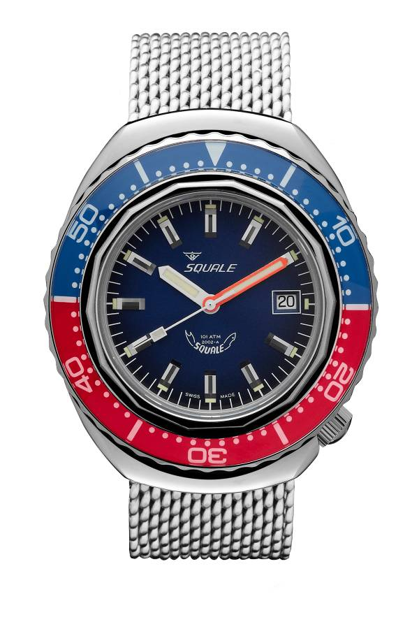 Squale 2002 Blue Red