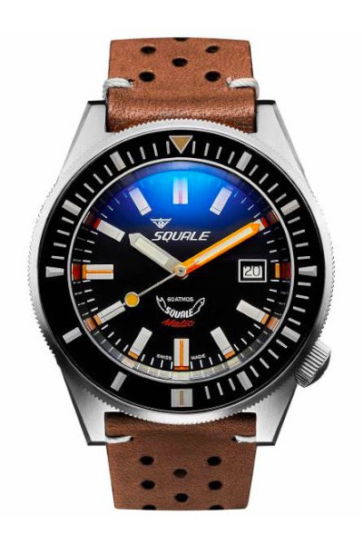 Squale Matic Satin Black
