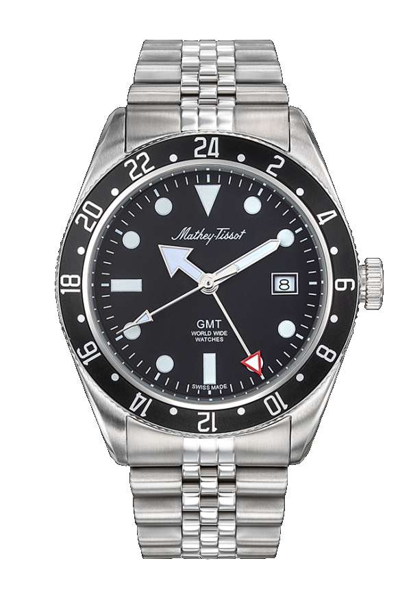 Mathey-Tissot Rolly GMT Black