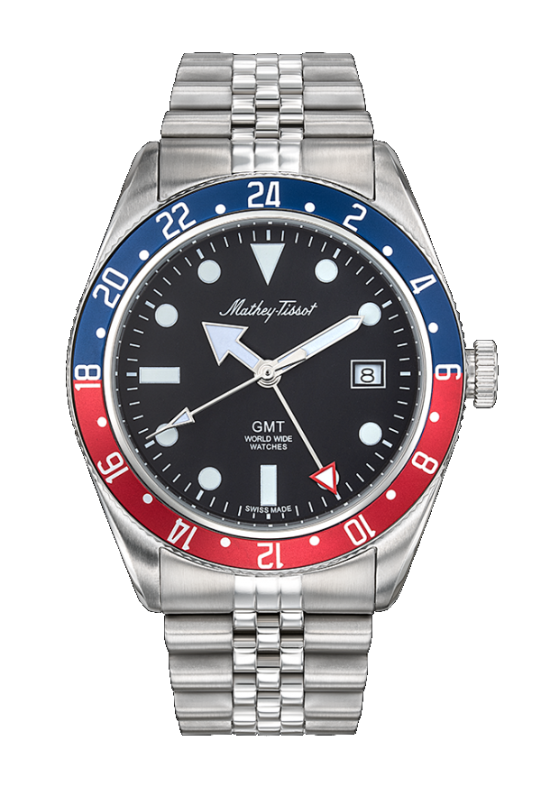 Mathey-Tissot Rolly Red Blue